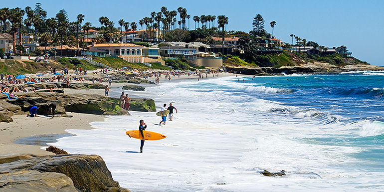 Just A Short Walk From The La Jolla Commercial Area Lies One Of Most Beautiful Beaches Called Cove Located In Jollaunderwaterpark