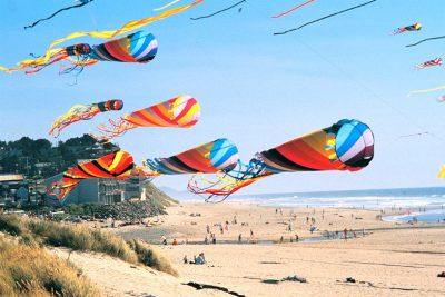 Annual Ocean Beach Kiwanis Kite Festival